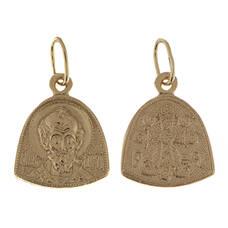 Натальная иконка серебряная Ag 925 «Николай Чудотворец» (арт. 13122-325)