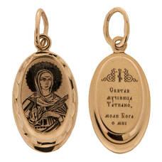 Образок золото Au 585 «Татиана» (арт. 13123-117)