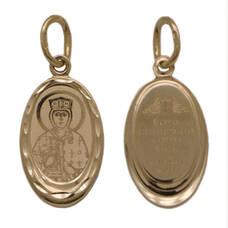 Образок золото Au 585 «Ольга» (арт. 13123-130)
