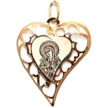 Образок золото Au 585 «Богородица (Семистрельная, Умягчение злых сердец)» (арт. 13123-144)