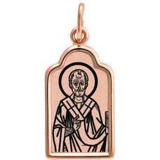 Натальная иконка золото Au 585 «Николай Чудотворец» (арт. 13123-94)