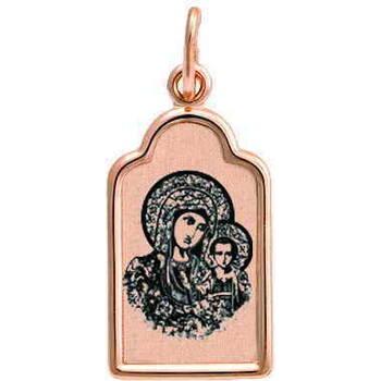 Образок из золота Au 585 «Богородица (Казанская)» (арт. 13123-97)