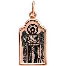 Образок золотая Au 585 «Архангел Михаил» (арт. 13123-99)