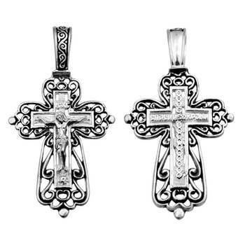 Крест православный серебро (арт. 13111-167)