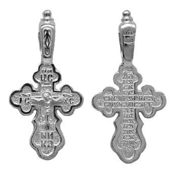 Крест нательный серебро (арт. 13111-17)