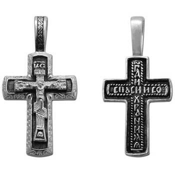 Крест православный серебряный (арт. 13111-183)