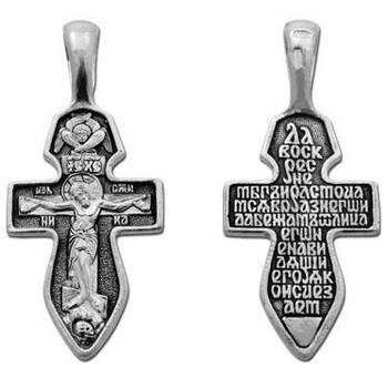 Крестик православный из серебра (арт. 13111-206)