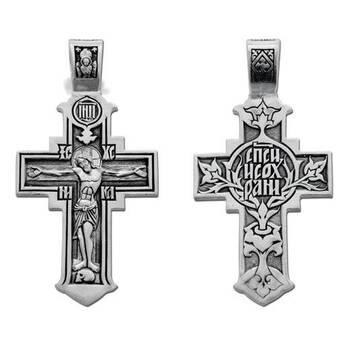 Крестик из серебра (арт. 13111-221)