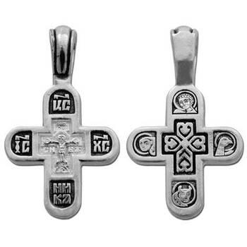Крестик православный серебро (арт. 13111-227)