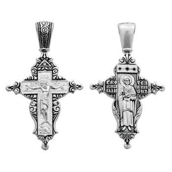 Крест нательный серебряный (арт. 13111-228)