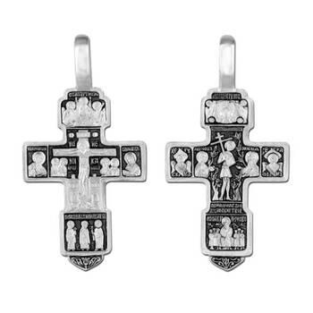 Крестик из серебра (арт. 13111-242)
