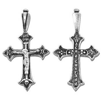 Крест православный серебро (арт. 13111-61)