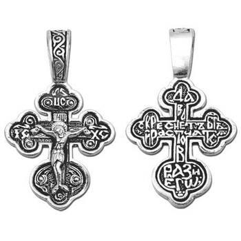 Крест серебро (арт. 13111-62)