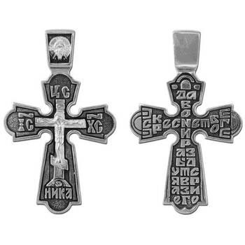 Крестик нательный серебро (арт. 13111-74)