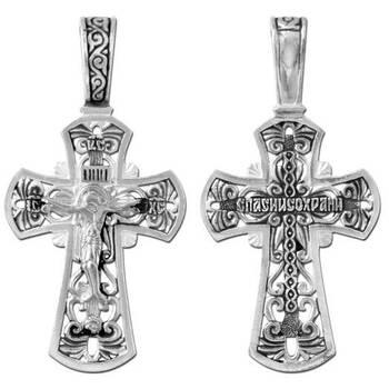 Крест серебряный (арт. 13111-77)