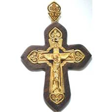 Крест православный серебро (арт. 13111-978)