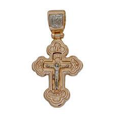 Крест православный серебро (арт. 13112-312)