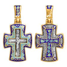 Крест православный серебро (арт. 13112-89)