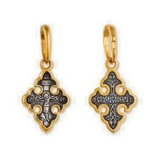 Крест православный серебро (арт. 13112-94)