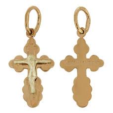 Крест золото Au 585 (арт. 13114-19)