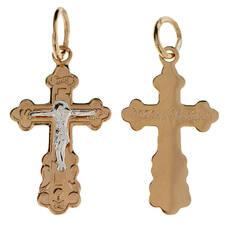 Крест золото Au 585 (арт. 13114-22)