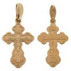 Крест нательный золото Au 585 (арт. 13114-37)