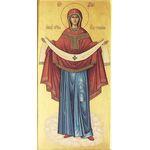 Икона образ Пресвятой Богородицы Покров