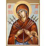 Икона образ Пресвятой Богородицы 'Умягчение Злых Сердец'