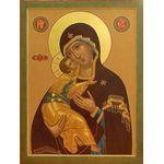 Икона образ Пресвятой Богородицы 'Владимирская'