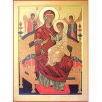 Икона образ Пресвятой Богородицы 'Всецарица'