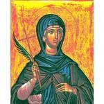 Матрона Солунская, Святая мученица