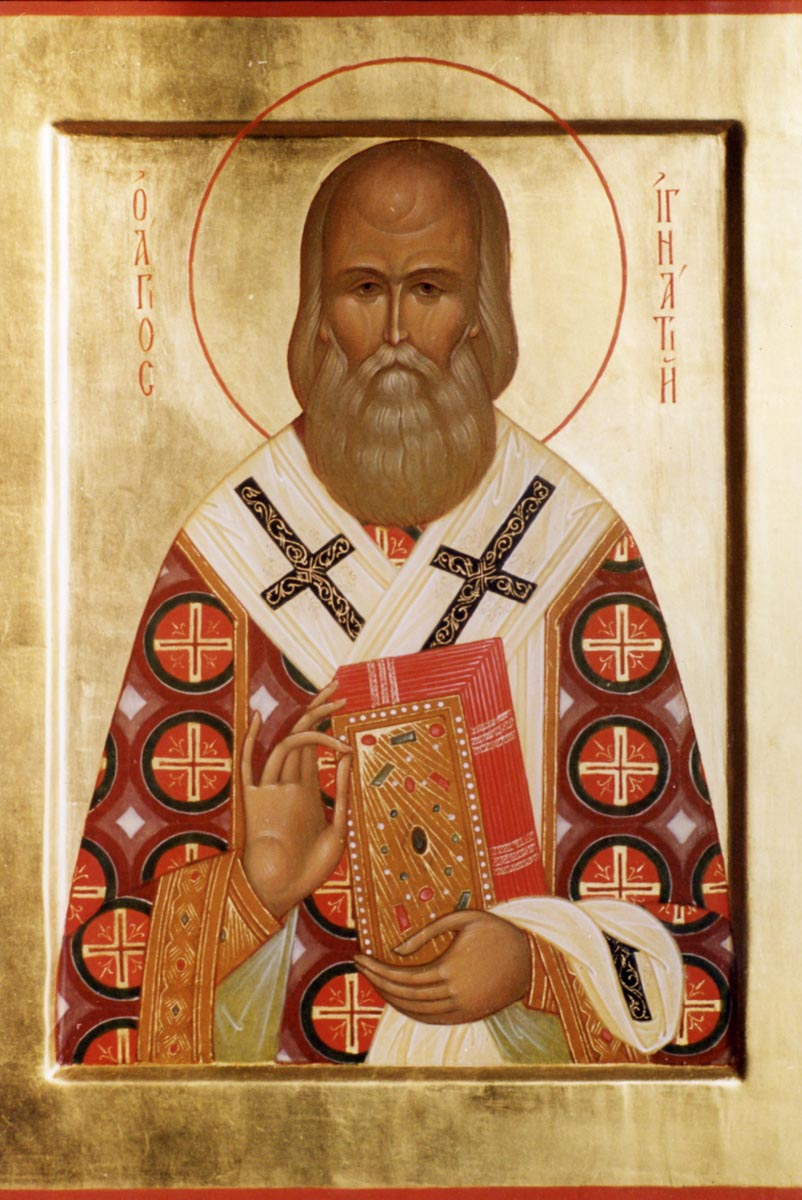 una din puținele icoane canonice ale Sf. Ignatie Brianceaninov