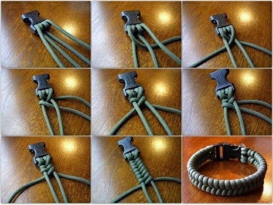 Как сделать плетение браслетов